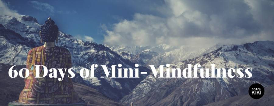 Why 60 Days of Mini-Mindfulness?